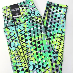 VS Spray Paint Triangles High Rise Knockout Tight